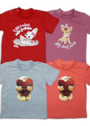 футболка для девочек