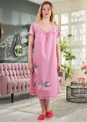 женская ночная сорочка баттерфляй