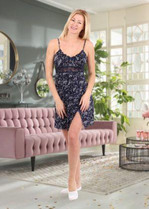 женская ночная сорочка ассоль