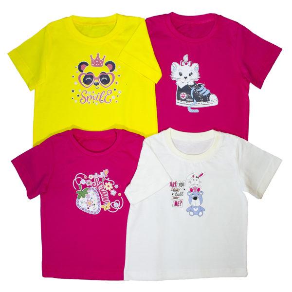 футболка принт для девочек