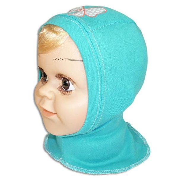 шапка-шлем для новорожденных