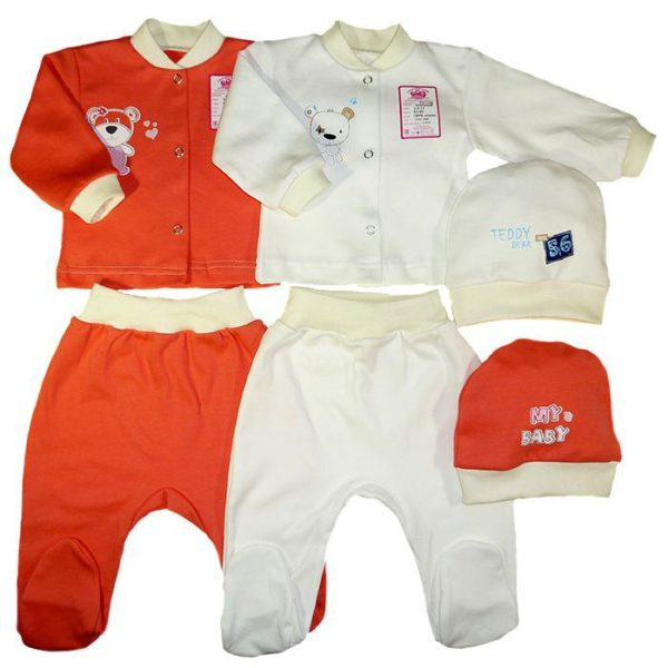 комплект детский трикотажный для новорожденных
