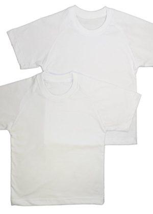футболка детская белая