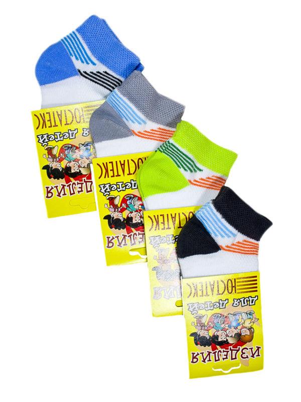 носки детские укороченные сетка