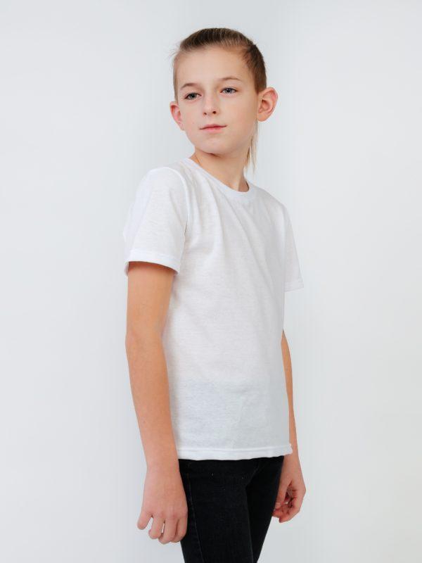подростковая белая футболка