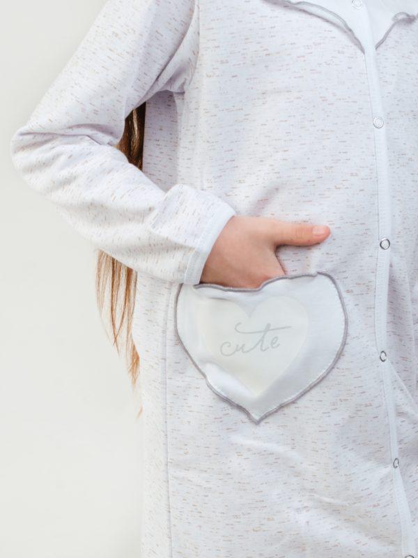 халат для девочки